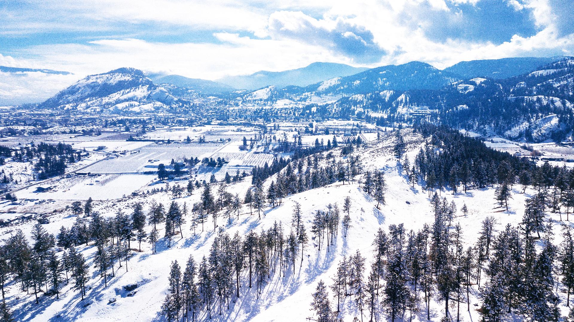 Winter in HuntersHill Summerland
